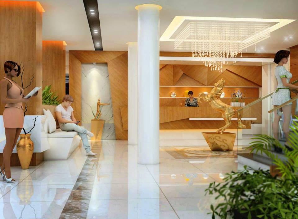 sảnh khách sạn 387 trần phú