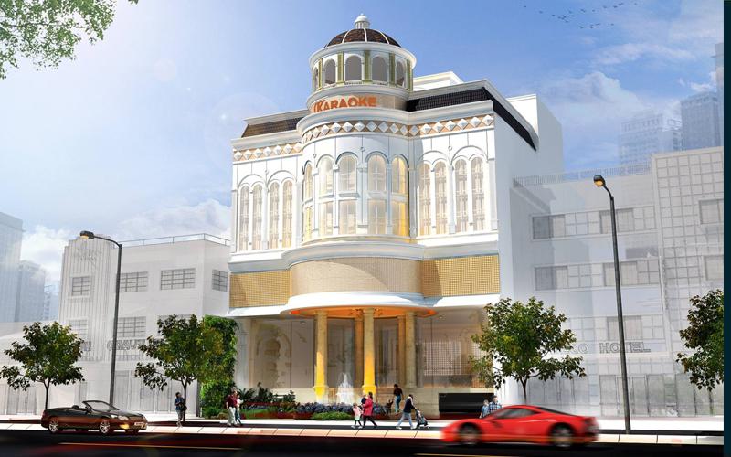 Khu tổ hợp giải trí  Luxury Nha Trang